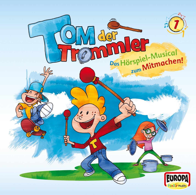 "Elbtonal Percussion | ""Tom der Trommler Vol.1"" | 2014 | CD & Digital Download | EUROPA Family Music"